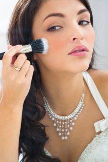 Нюдовый макияж свадебный
