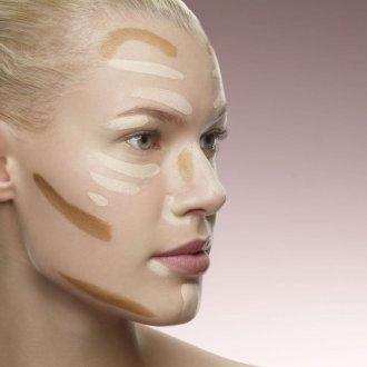 Нюдовый макияж нанесение тона
