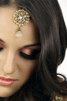 Восточный макияж бронзовый