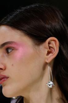 Восточный макияж розовый