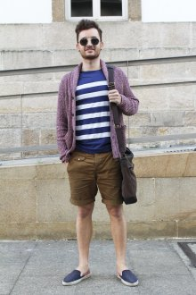 Слипоны мужские с шортами