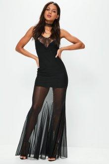 Платье с фатином облегающие