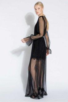 Платье с фатином прозрачное