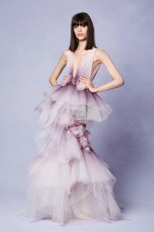 Платье с фатином пышное