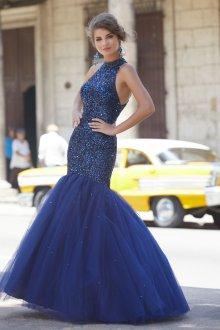Платье с фатином русалка