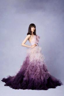 Платье с фатином на выпускной