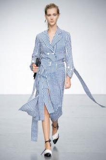 Платье в полоску 2019 льняное
