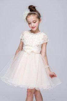 Вечернее платье для девочки ажурное