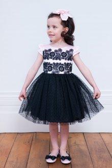 Вечернее платье для девочки черное