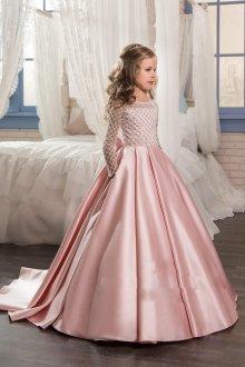 Вечернее платье для девочки принцесса длинное