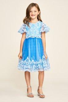 Вечернее платье для девочки миди