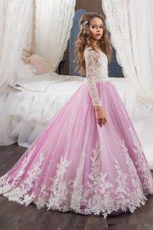 Вечернее платье для девочки подростка пышное