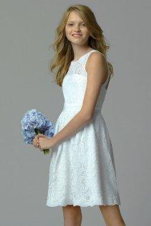 Вечернее платье для девочки подростка кружевное