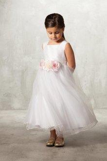 Вечернее платье для девочки на поясе