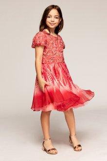 Вечернее платье для девочки с принтом
