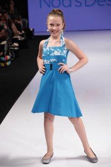Вечернее платье для девочки простое