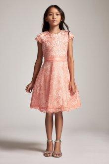 Вечернее платье для девочки с рукавом