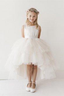 Вечернее платье для девочки с пышной юбкой