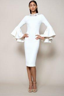 Платье карандаш белое