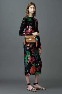 Платье карандаш с цветами