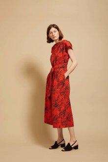Платье карандаш красное