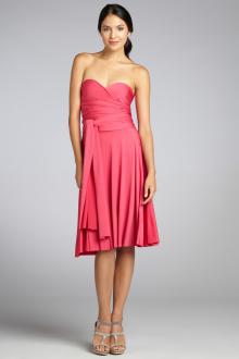 Платье трансформер бюстье
