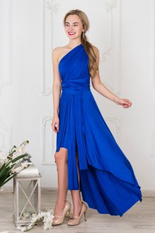 Платье трансформер цвета электрик