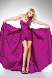 Платье трансформер цвета фуксия