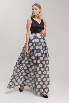 Платье трансформер в горошек