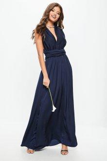 Платье трансформер синее