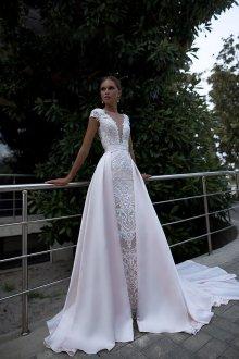 Платье трансформер свадебное кружевное