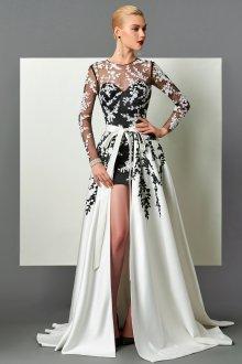 Платье трансформер с вышивкой