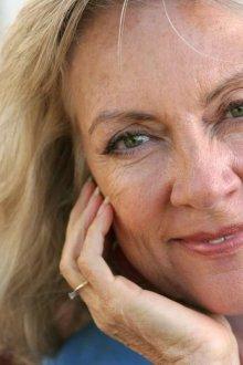 Возрастной макияж для зеленых глаз