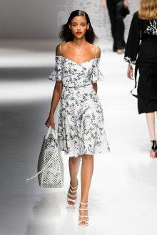Blumarine весна лето 2019 платье миди