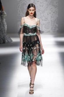 Blumarine весна лето 2019 прозрачное платье