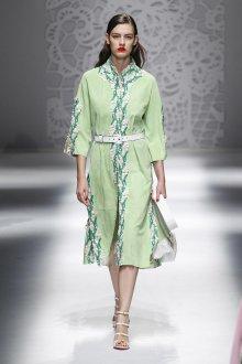 Blumarine весна лето 2019 платье рубашка
