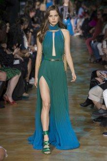 Elie Saab весна лето 2019 длинное платье