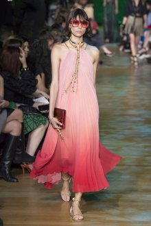 Elie Saab весна лето 2018 платье с градиентом