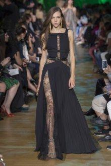 Elie Saab весна лето 2019 кружевное платье
