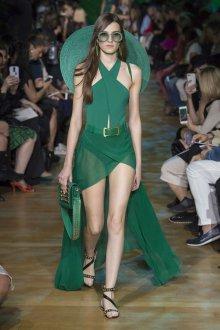 Elie Saab весна лето 2019 зеленая сумка