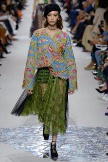 Christian Dior весна лето 2019 ажурная кофта