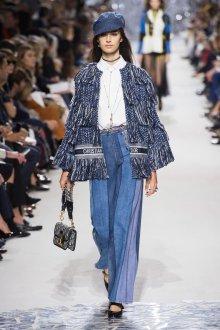Christian Dior весна лето 2019 деним