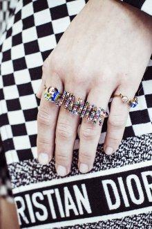 Christian Dior весна лето 2019 кольца