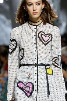 Christian Dior весна лето 2019 платье с принтом