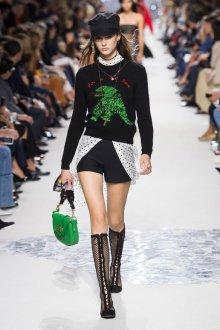 Christian Dior весна лето 2019 сумка зеленая