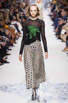 Christian Dior весна лето 2019 юбка