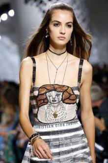 Christian Dior весна лето 2019 украшения