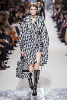 Christian Dior весна лето 2019 черно-белый узор