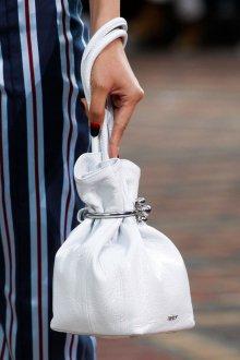 Kenzo весна лето 2018 белая сумка