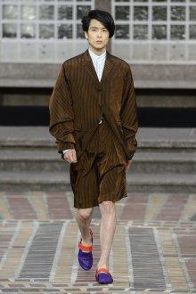 Kenzo весна лето 2018 мужская коллекция костюм